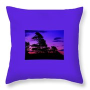 Sunrise At Point Pleasant Park Throw Pillow