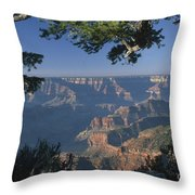 Sunrise At The North Rim Throw Pillow