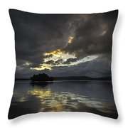 Sunrise At Watts Bar Lake Throw Pillow