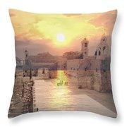 Sunrise Bethlehem Throw Pillow