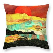 Sunrise Brings A New Day Throw Pillow