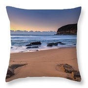 Sunrise By The Seaside Throw Pillow