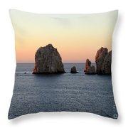 Sunrise Cabo 1 Throw Pillow