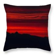 Sunrise Cruise Throw Pillow