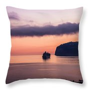 Sunrise Departure Throw Pillow