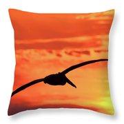 Sunrise Fight Throw Pillow