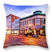 Sunrise In Annapolis Throw Pillow