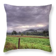 Sunrise In Boxley Valley Throw Pillow