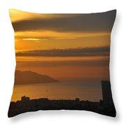 Sunrise In Da Nang Throw Pillow