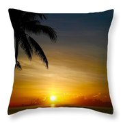 Sunrise In Florida / A Throw Pillow