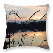 Sunrise In Grayton 3 Throw Pillow
