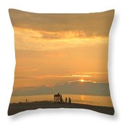 Sunrise In July Throw Pillow