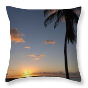 Sunrise In Key West 2 Throw Pillow
