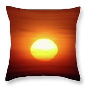 Sunrise In Othello  Throw Pillow