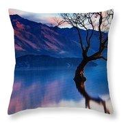 Sunrise In Slovenia Throw Pillow