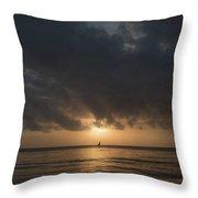 Sunrise In Tanga Throw Pillow