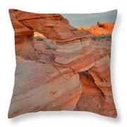 Sunrise In Valley Of Fire State Park Throw Pillow