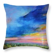 Sunrise Magic Throw Pillow