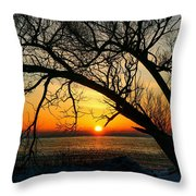 Sunrise Throw Pillow
