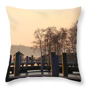 Sunrise Meredith Bay Throw Pillow