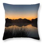 Sunrise Throw Pillow by Michael Tesar