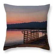 Sunrise Morning Throw Pillow