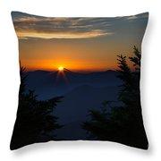 Sunrise Myrtle Point Throw Pillow