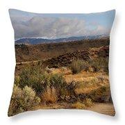 Sunrise Near Boise, Idaho Throw Pillow