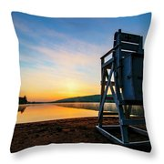 Sunrise On Eighth Lake 1 Throw Pillow