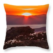 Sunrise On Mount Clay 2 Throw Pillow