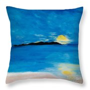 Sunrise On My Emotions Throw Pillow