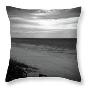 Sunrise On Santa Rosa Beach Throw Pillow