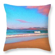 Sunrise On Sea Of Cortez Throw Pillow