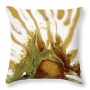 Sunrise On The Desert Playa Throw Pillow