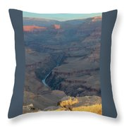 Sunrise On The Grand Canyon Throw Pillow