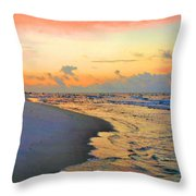Sunrise On The Gulf Throw Pillow