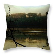Sunrise On The Hudson River, No. 14 Throw Pillow