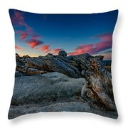 Sunrise On The Jeffrey Pine Throw Pillow