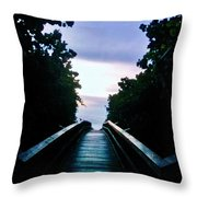 Sunrise On The Other Side Throw Pillow