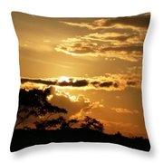 Sunrise Over Fort Salonga4 Throw Pillow