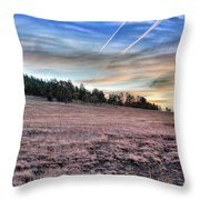 Sunrise Over Ft. Apache Throw Pillow by Lynn Geoffroy