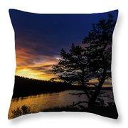 Sunrise Over Hauser Throw Pillow