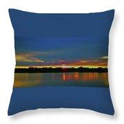 Sunrise Over Ile-bizard - Quebec Throw Pillow
