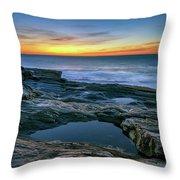 Sunrise Over Pemaquid Point Throw Pillow