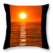 Sunrise Over The Lake 2 Throw Pillow