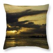 Sunrise Over The Ninth Ward Throw Pillow