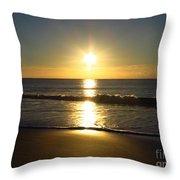 Sunrise Over The Ocean8852 Throw Pillow
