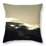 Sunrise Over The Sandias Throw Pillow