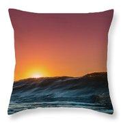 Sunrise Peeking Throw Pillow