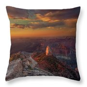 Sunrise Point Imperial North Rim Grand Canyon National Park Arizona Throw Pillow